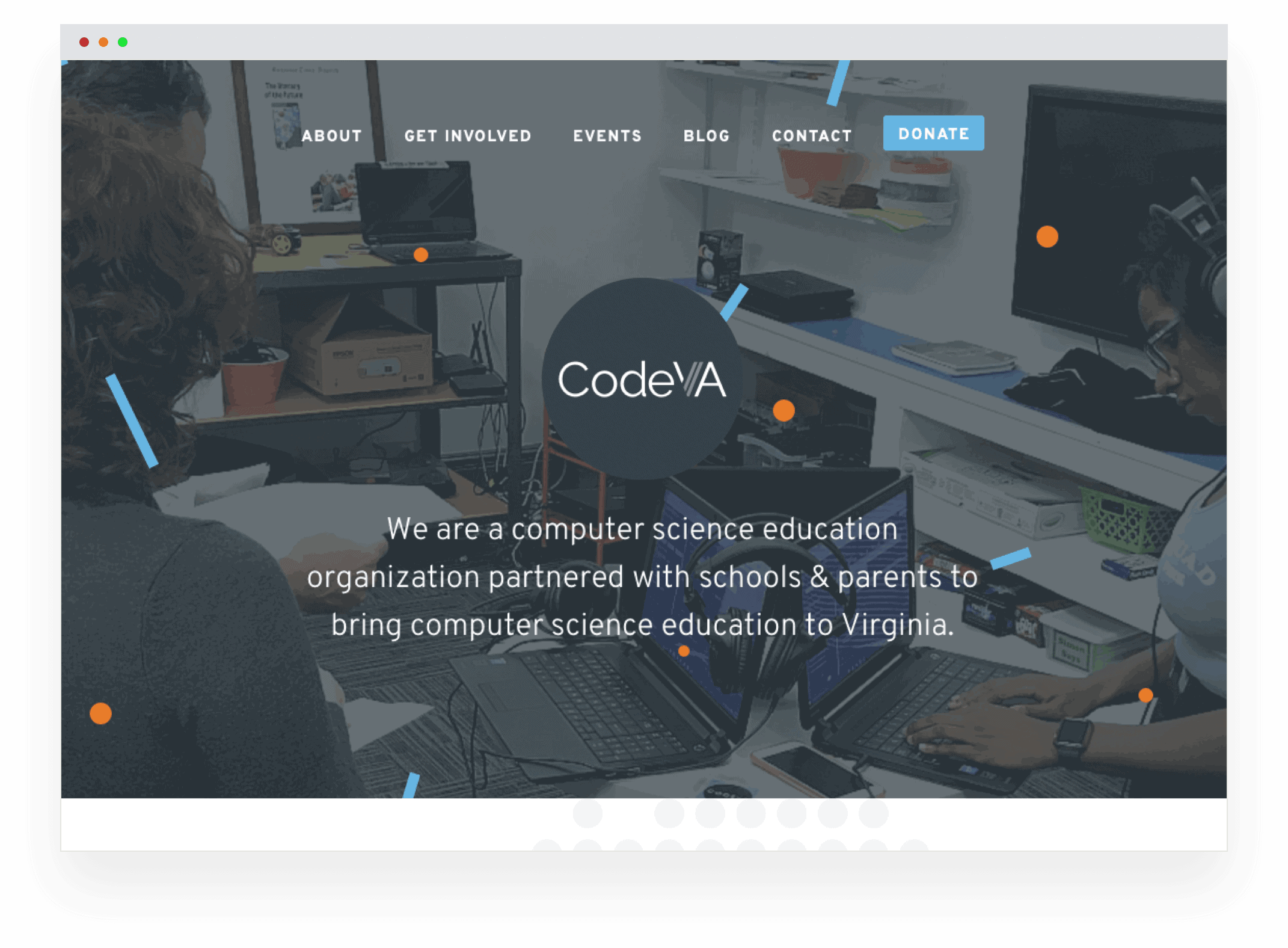The new CodeVA website