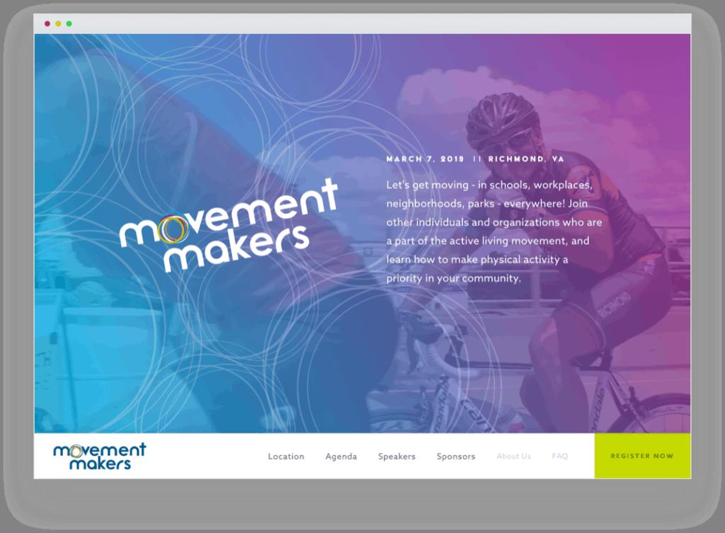 Movement Makers website