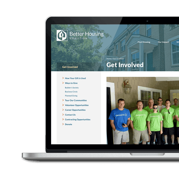 The new Better Housing website