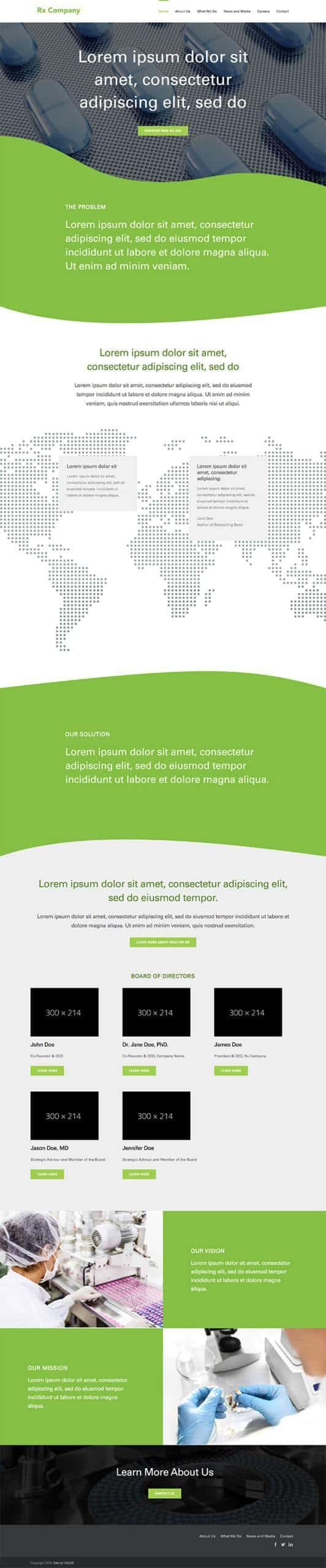 Rx Company Homepage
